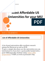 Top 10 US Universities for MS in Electrical, Electronics and Communication Engineering