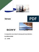Samsung Verses Sony