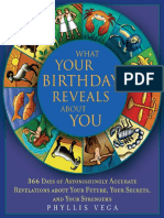 PHYLLIS VEGA What Your Birthday Reveals About You