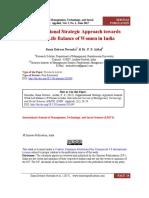 Oranisational Strategic Approach