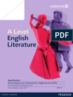 A Level Literature Spec
