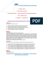 100 105 Exam Dumps With PDF and VCE Download 1 50