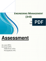 Engineering Management for BE Electronics Chapter 1 Introduction