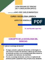 Sociologia Juridica - Maestria de Derecho Constitucional