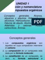 Nomenclatura Compuestos Orgánicos