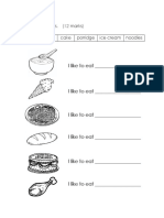 Fill in the Blanks (food)