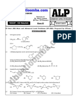 Hydrocarbon for JEE Main and Advanced (ALP)