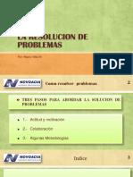 Resolución de Problemas x MVM