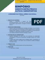 Simpósio - Planeamento Estratégico Aeronáutico -Aeroportos - Júlio Furtado-Comando Da Força Aérea Nacional de Angola - FAN