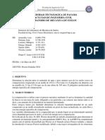 Informe Proctor Estandar