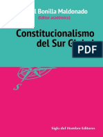 BONILLA, Daniel (Ed.). Constitucionalismo Del Sur Global