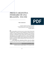 Diplomacia Mexico Argentina 1910