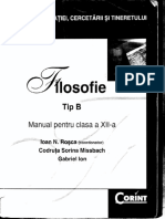 -Filosofie. TIp B. Manual Pentru Clasa a XII-A-Corint