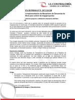 NP79-2017 | Contraloría apoyará implementación de Mecanismo de Denuncias de Alto Nivel para control de megaproyectos