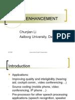Speech Enhancement Lecturenote