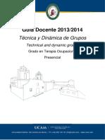 13. Tecnica y Dinamica de Grupos 2013-2014
