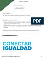 Soporte Técnico - Conectar Igualdad