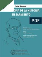 Dujovne, Filosofia de La Historia en Sarmiento