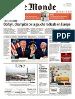 JOURNAL - Le Monde Week End Magazine Idees Du Samedi 12 Aout 2017
