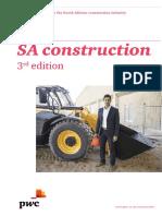 Sa Construction PWC Report