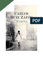 Descargar Marina by Carlos Ruiz Zafon Libro