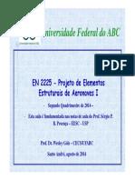 Projeto de Elementos Estruturais de Aeronaves I Aula06_PEEAI - Exercício - A