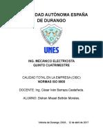Trabajo de Investigacion - Normas ISO 9000