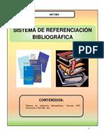 Sistemas de Referencias Bibliograficas