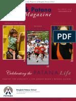 Patana Magazine - Term 1 0809