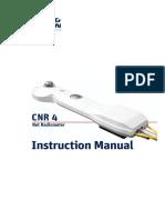KippZonen Manual CNR4 NetRadiometer 1409