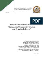 Informe 3 Lab Mecanica de Rocas
