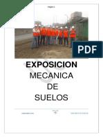 Exposicion Mecanica de Suelos