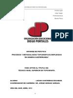 Informe Practica Final topografía.