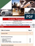 Investor Presentation Q2 8Dec2016