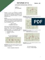 amplificador operacional aplicaciones no lineales
