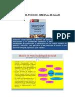 Modelo de Atencion Integral de Salud