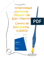 Manual CINFO de Word 2013
