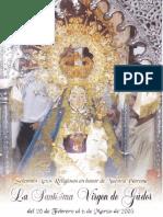 Folleto de la Virgen de Gador 2005