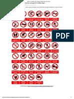Rambu K3 _ Kumpulan Rambu Larangan K3 (Safety Sign) _ Ahli K3 Umum