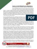 0 IRRESTRICTO ACOMPAÑAMIENTO DE SINDESENA A ASPIRANTES Y BENEFICIARIOS DE LOS 800 CARGOS TEMPORALES
