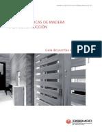 1. Puertas de Madera