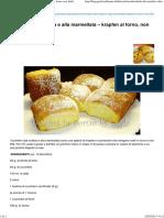 Buchteln Alla Nutella e Alla Marmellata (Krapfen Al Forno, Non Fritti