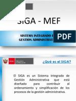Implementación Del SIGA