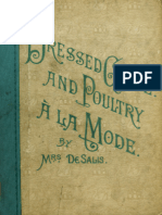 Dressed Game and Poultry à La Mode by Mrs. de Salis