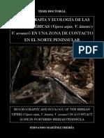 Viogeografia y Ecologia de Las Vivvoras Ibericas