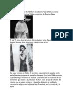 Vida de Evita Peron