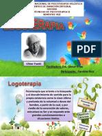 Presentación Tecnicas Psicoteraia II LOGOTERAPIA