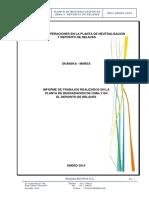 Informe de Planta de Degradacion