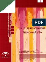 5.- Tomo IV La Organización de Un Proyecto de Centro
