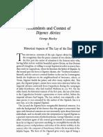 Huxley-Antecedents and Context of Digenes Akritas